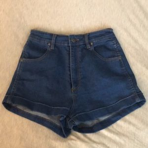 Urban Outfitters Pin Up Style Jean Shorts